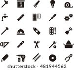 tools icons | Shutterstock .eps vector #481944562