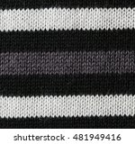 unusual abstract knitted... | Shutterstock . vector #481949416