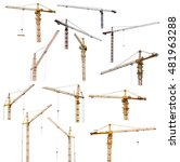 Set Of Thirteen Hoisting Crane...
