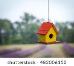 Colorful Bird House Hanging...