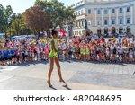 odessa  ukraine  10 september... | Shutterstock . vector #482048695