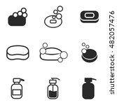 soap vector icons. simple...