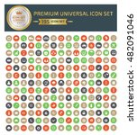 premium universal icon set... | Shutterstock .eps vector #482091046