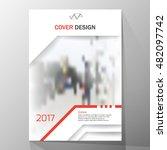 modern cover design  layout... | Shutterstock .eps vector #482097742