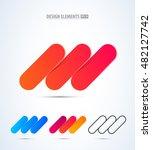 abstract vector success logo... | Shutterstock .eps vector #482127742