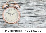 vintage watch on the wooden... | Shutterstock . vector #482131372