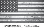 old american flag.grunge usa... | Shutterstock .eps vector #482133862