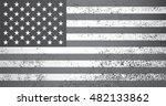 old american flag.grunge usa... | Shutterstock .eps vector #482133862