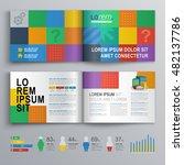 business brochure template... | Shutterstock .eps vector #482137786