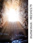 resurrection of jesus christ.... | Shutterstock . vector #482142175