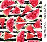 watercolor seamless pattern...   Shutterstock . vector #482156626