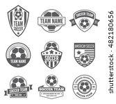 set of vector logotypes... | Shutterstock .eps vector #482180656
