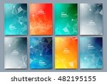 abstract composition. text... | Shutterstock .eps vector #482195155