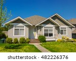 average family house with... | Shutterstock . vector #482226376