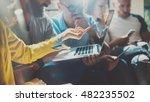 startup diversity teamwork... | Shutterstock . vector #482235502