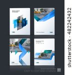 brochure template layout  cover ... | Shutterstock .eps vector #482242432