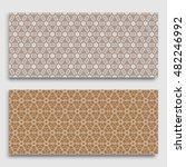 seamless horizontal borders... | Shutterstock .eps vector #482246992