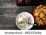 Rice Porridge Congee With...