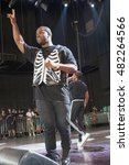 asap ferg live performance at... | Shutterstock . vector #482264566