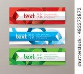 set of modern design web...   Shutterstock .eps vector #482273872
