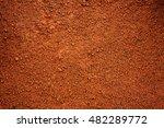 Brown Dirt  Soil  As Background.