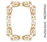 frame  frame border  vintage... | Shutterstock .eps vector #482304562