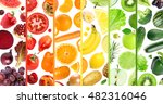 fresh color fruits and... | Shutterstock . vector #482316046