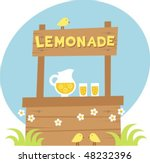 lemonade | Shutterstock .eps vector #48232396