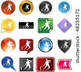 hockey icon isolated web icon