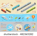 public  personal and cargo... | Shutterstock .eps vector #482365282