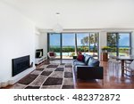 a large bright spacious living ... | Shutterstock . vector #482372872