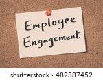 employee engagement   Shutterstock . vector #482387452