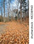 late fall landscape | Shutterstock . vector #48238960