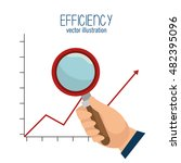 icon efficient management...   Shutterstock .eps vector #482395096