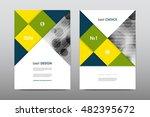 brochure layout template flyer... | Shutterstock .eps vector #482395672