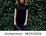 cropped image of young hipster... | Shutterstock . vector #482414326