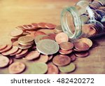 saving money and account growth ... | Shutterstock . vector #482420272