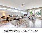 spacious living room interior... | Shutterstock . vector #482424052