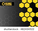 Color Abstract Vector Honey...