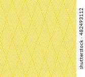 seamless striped yellow... | Shutterstock .eps vector #482493112