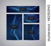 set of corporate business... | Shutterstock .eps vector #482503942