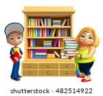 3d rendered illustration of kid ... | Shutterstock . vector #482514922