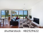 a large bright spacious living... | Shutterstock . vector #482529622