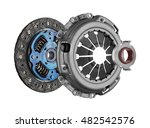 disc and clutch basket with... | Shutterstock . vector #482542576