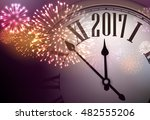 2017 new year background with... | Shutterstock .eps vector #482555206