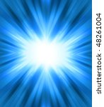 Blue Shine   Abstract Background