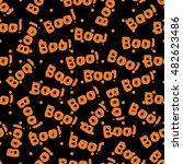 halloween tile pattern with... | Shutterstock . vector #482623486