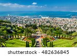 View Over The Bahai Gardens In...