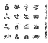 sme business icon | Shutterstock .eps vector #482660836