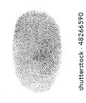 fingerprint | Shutterstock . vector #48266590